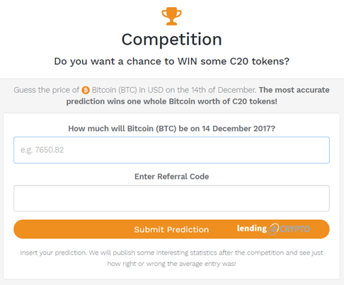 Crypto20 Price Prediction Competition
